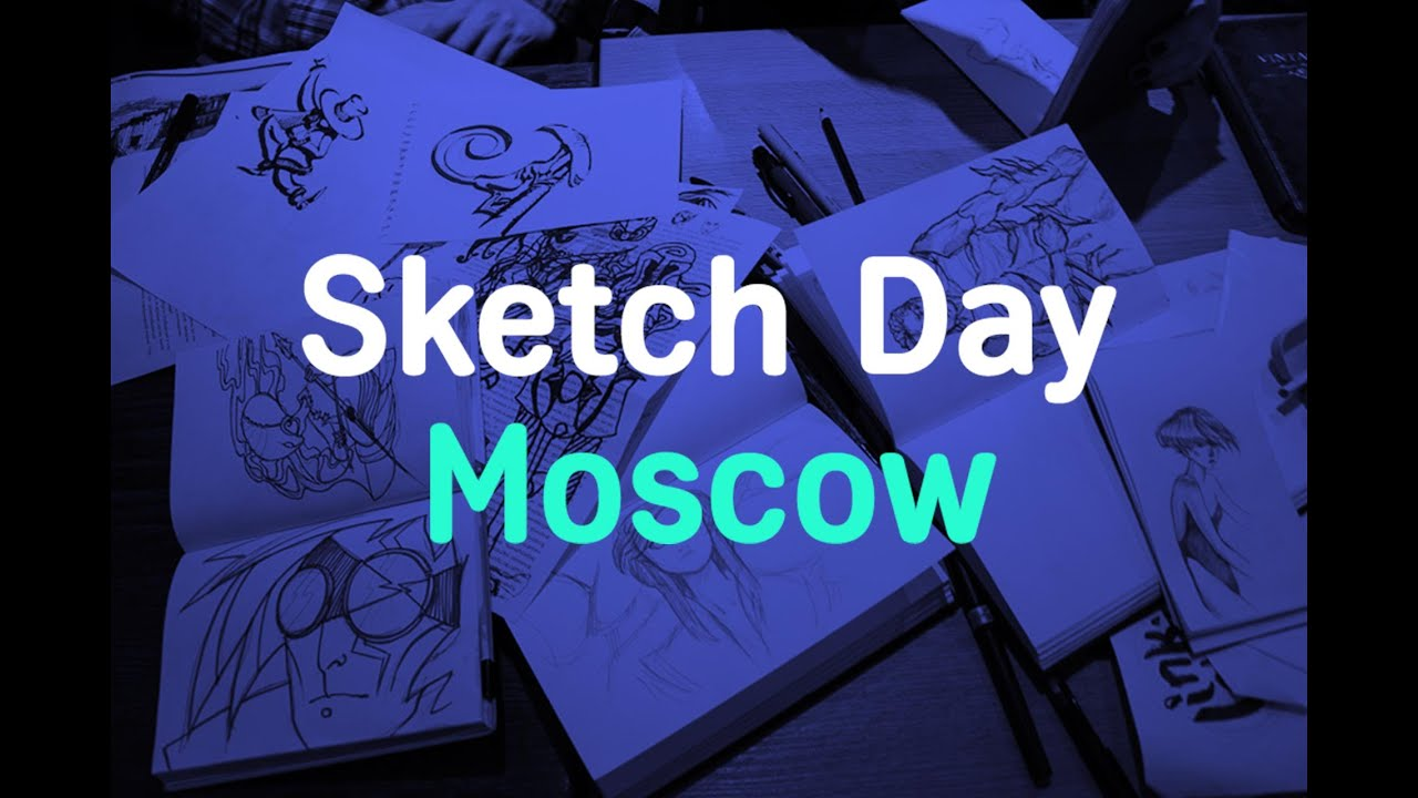 Sketch Day Moscow 21.06.2015