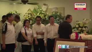 Paying last respect to Karpal Singh