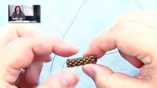 Learn to Make a Peyote Tube Toggle