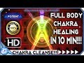 Download FULL BODY CHAKRA HEALING MUSIC ❈ VERY STRONG!!! ❈ CHAKRA HEALING & RE-ENERGIZING MEDITATION MUSIC MP3 song and Music Video