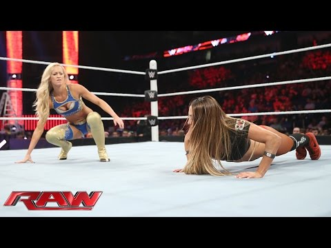 Summer Rae vs. Nikki Bella: Raw, June 8, 2015