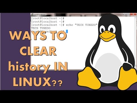 clear history linux