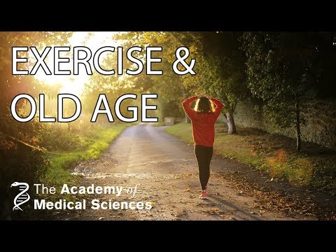 Exercise the secret for healthy old age | Professor Janet Lord FMedSci