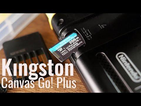 Тестируем карту памяти Kingston Canvas Go! Plus на 256 Гб | Опять лучшая карта для Nintendo Switch?