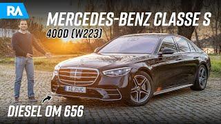 Mercedes-Benz Classe S 400d (W223). Ainda é o MELHOR CARRO DO MUNDO?