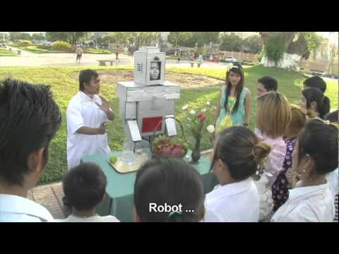 Robot Revenge - TV comedy sketch