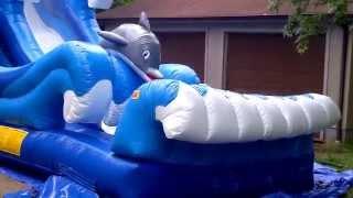 Inflatable Water Slide Rentals Www.tnbounceparties.com