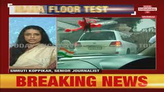 Ajit Pawar Reaches Devendra Fadnavis' Residence After Meet With NCP Leaders | Live