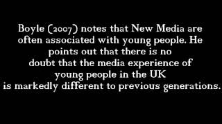 Sociology - New Media Mr. Puni