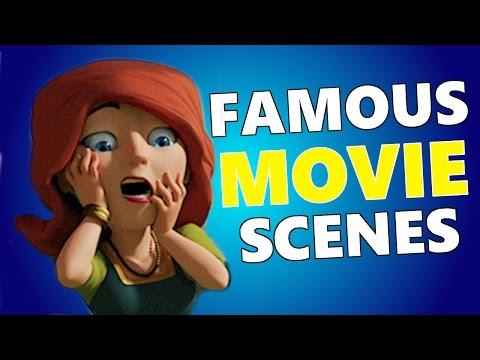 Clash Of Clans FAMOUS MOVIE SCENES! CoC Movie Quotes!