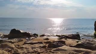 Relaxing Beach Sounds - Morning in the Caspian Sea