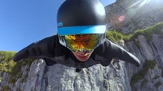 Gopro: Majestic Wingsuit Flight In Switzerland