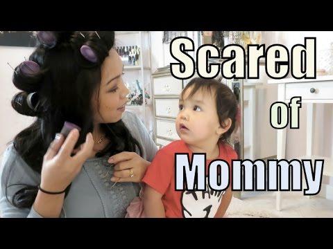 SCARED OF MOMMY! - February 11, 2016 -  ItsJudysLife Vlogs