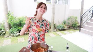 Home Cooking: Kimchi Soup ♥️ | Erich Gonzales