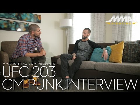 UFC 203: CM Punk reflects on MMA journey days before UFC debut