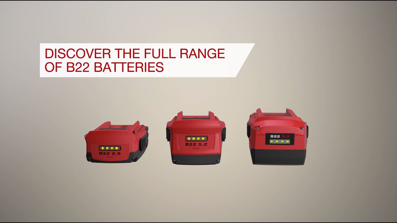 Technology that powers our 22V batteries