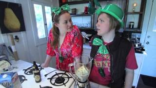 My Drunk Kitchen: SHAMROCK SHAKE!