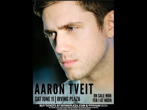 Aaron Tveit Live in Concert @ Irving Plaza (6/11/2016) Entire Concert