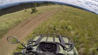 West Yellowstone: Riding ATVs, July 2016