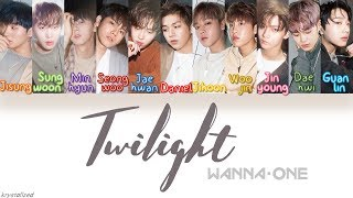 Wanna One (워너원) - Twilight [HAN|ROM|ENG Color Coded Lyrics]