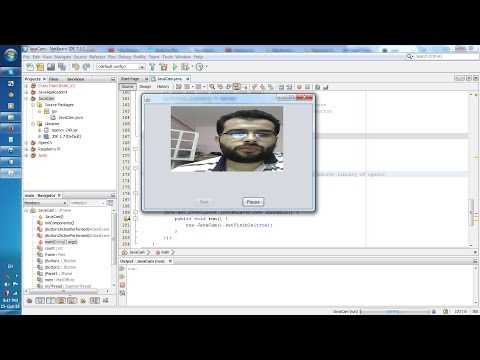 How to capture video from WebCam using Java with OpenCV ?