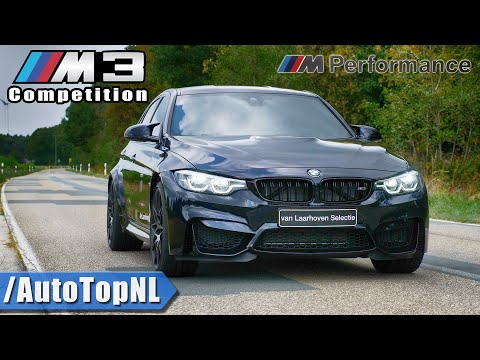 BMW M3 F80 Competition - M PERFORMANCE Exhaust LOUD! Sound - REVS & Onboard By AutoTopNL