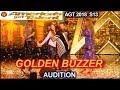Makayla Phillips 15 yo GOLDEN BUZZER WINNER sings Warrior America's Got Talent 2018 Audition AGT