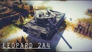 Besiege Build#93 Leopard 2A4 [Sgt .E request]