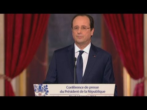French president Francois Hollande refuses to answer affair questions