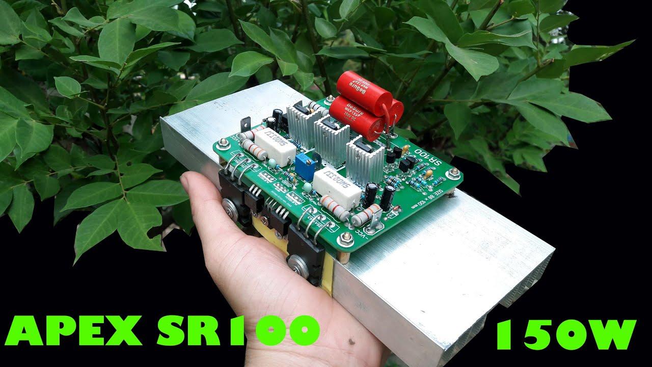 DIY Audio Amplifier APEX SR100