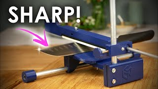 PERFECTLY sharp knifes! 3D PRINTED sharpening tool 🍴