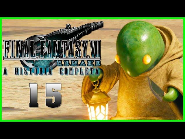Final Fantasy VII Remake : A Historia Completa - Parte 15 - CAPSLOCK