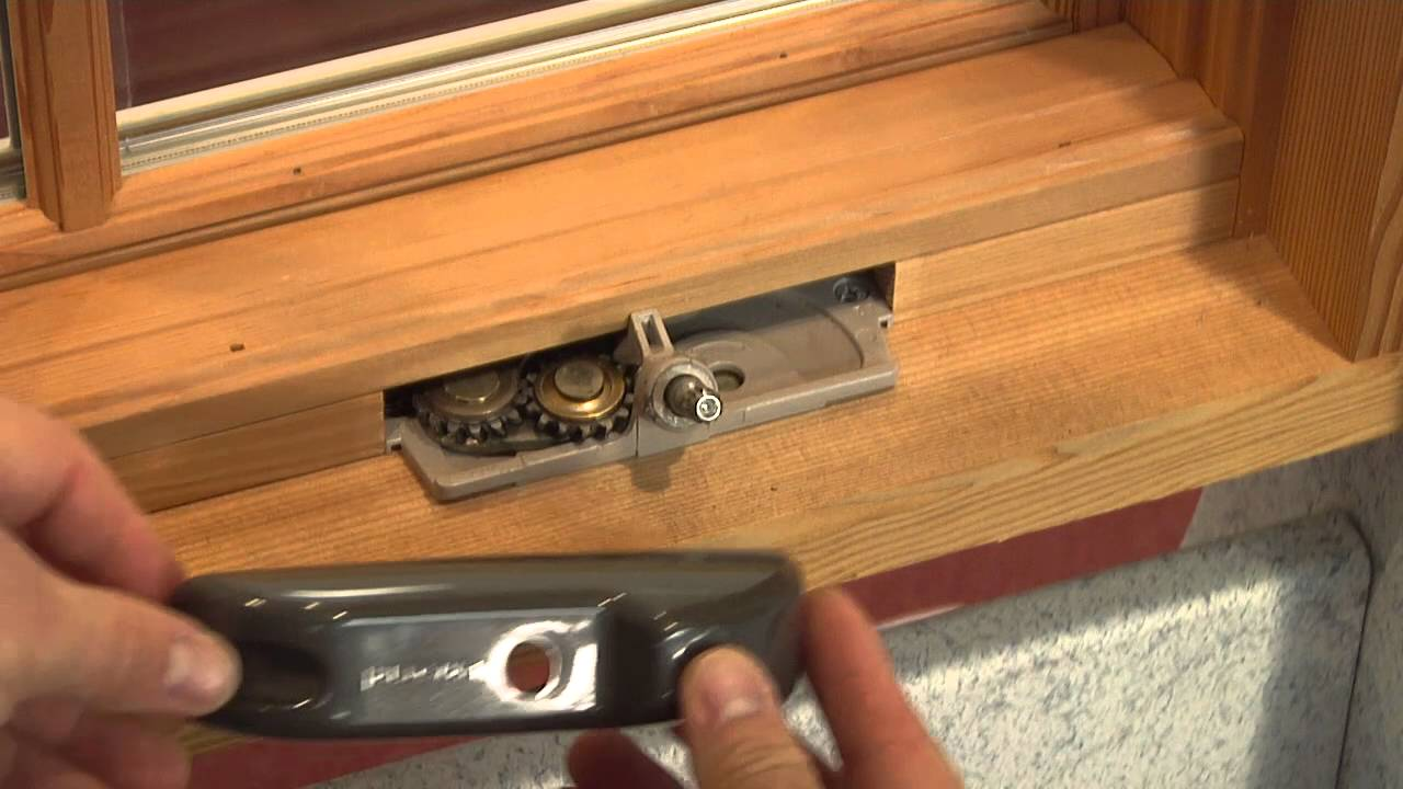 How To Replace The Handle And Cover On A Siteline Ex Wood