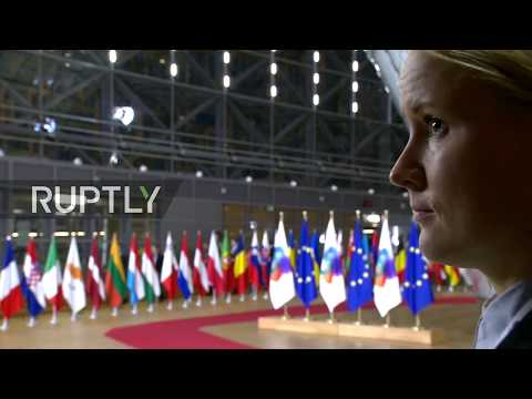 LIVE: 5th Eastern Partnership Summit in Brussels: Arrivals and official welcome