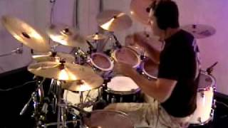 Back In Black AC-DC drum cover by Rich Martin