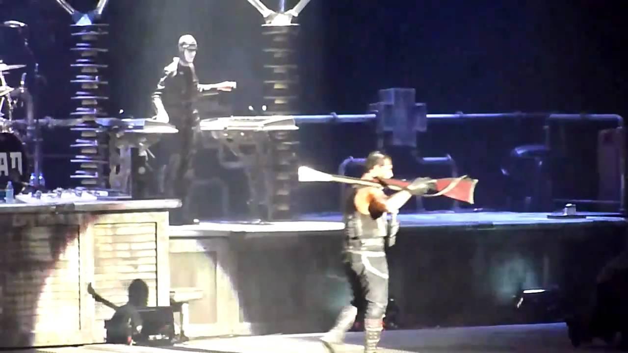 Rammstein Waidmanns Heil Sub Espa Ol Live Madison Square Garden Youtube