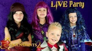Descendants 2 LIVE Watch Party