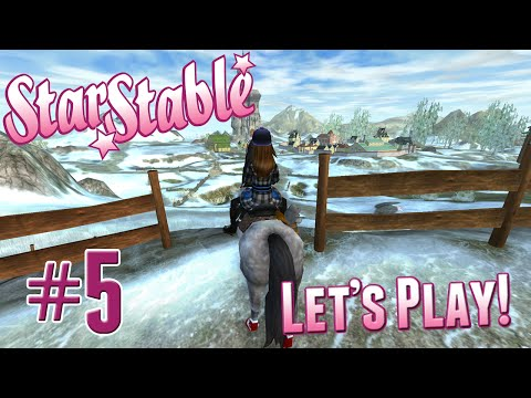 Let's Play Star Stable #5 - Jarlaheim, Seals, and Christmas!