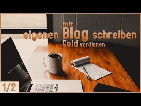 Eigenen Blog Schreiben / Geld Verdienen Mit Eigenem Blog   1/2  