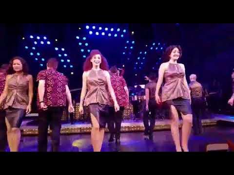 Final MegaMix/curtain call OnYourFeet on Broadway