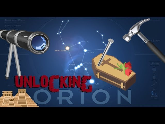Unlocking Orion and the Stationary Earth - Part I