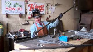 How To Weld A Mobile Lumber Rack By Mitchell Dillman