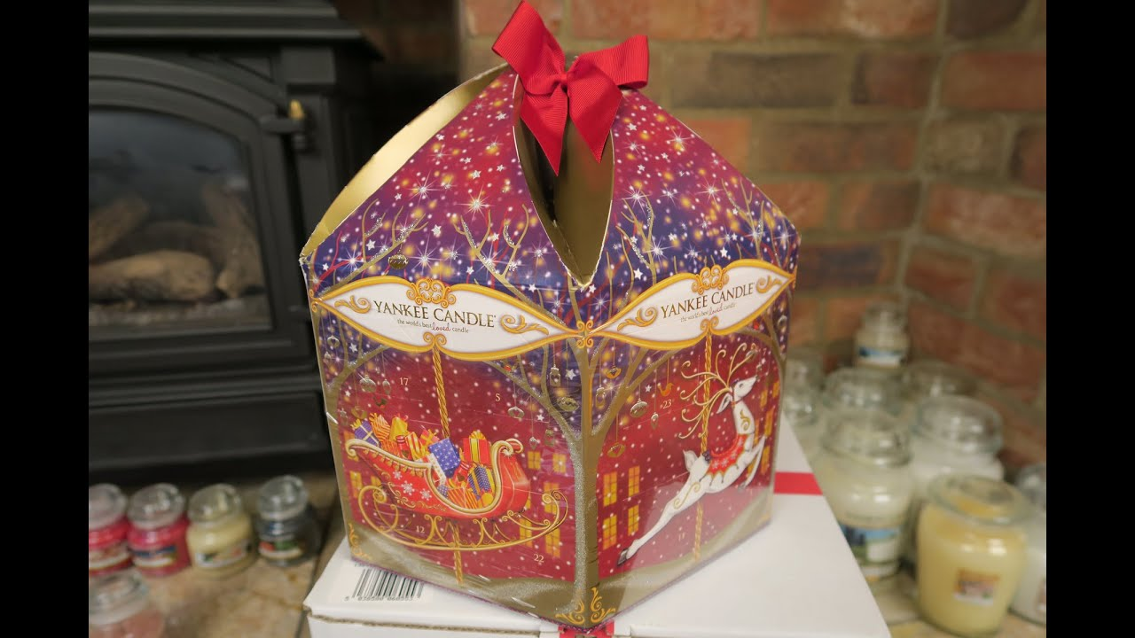 Yankee Candle Carousel Advent Calendar - Christmas 2015