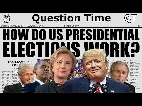 HOW DO US PRESIDENTIAL ELECTIONS WORK? - The Electoral College - QT Explains