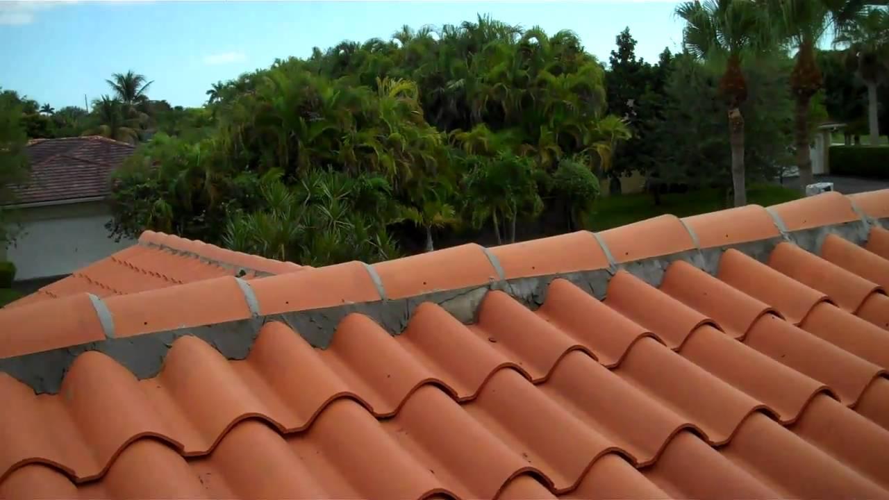 Tile Roof Maintenance 2  Miami, FL  Istueta Roofing   YouTube