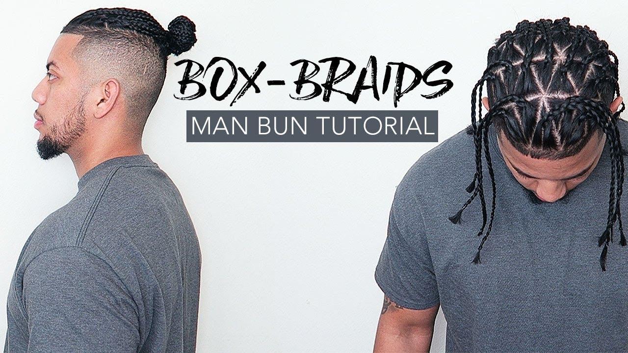 Hair Buns With Box Braids
