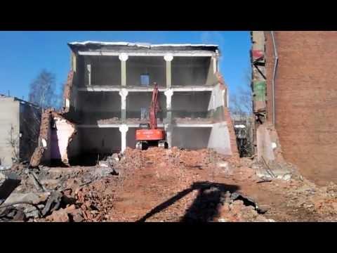 demolition of buildings in Russia