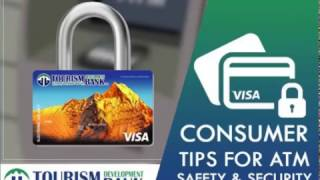General consumer Tips for ATM Safety & Security.
