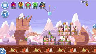 Angry Birds Friends 1st jan 2018 Level 6 SANTACOAL & CANDYCLAUS TOURNAMENT.