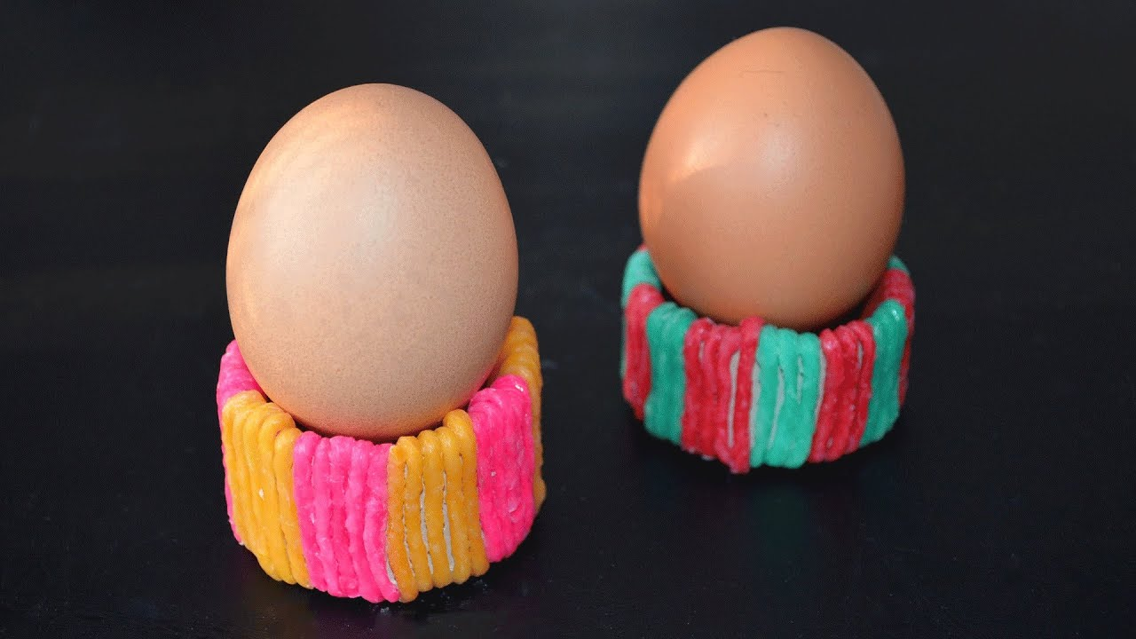 Ostern Eierbecher Basteln